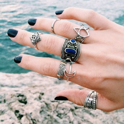 Fashion rings ,only $0.99 shop,click to buy | via Tumblr | We Heart It