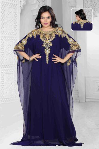 Eid Special Dubai Style #Kaftan Farasha Jalabiya Maxi Dress Abaya | eBay