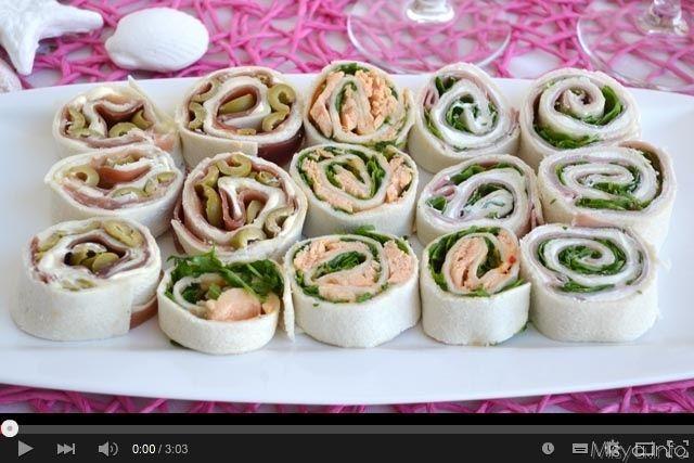 » Video ricetta girelle fredde farcite Ricette di Misya - Ricetta Video ricetta girelle fredde farcite di Misya