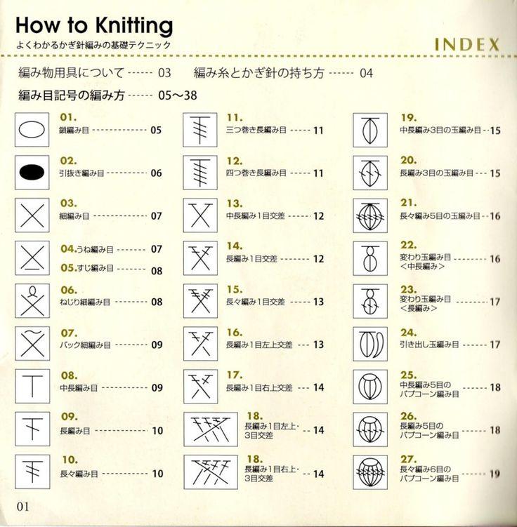Russian Knitting Chart Symbols : Crochet técnica japón comentarios liveinternet