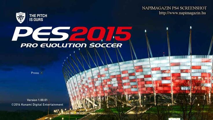Pro Evolution Soccer 2015 teszt