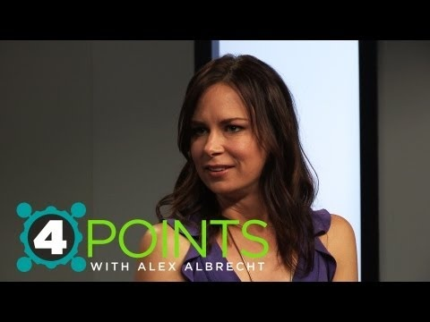 MARY LYNN RAJSKUB joins Alex Albrecht and Alison Haislip on 4 Points