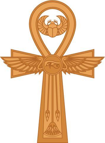 Ägyptische Symbole Ankh