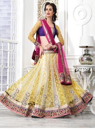 Fashion with Beauty 9410  http://www.angelnx.com/Lehenga-Choli