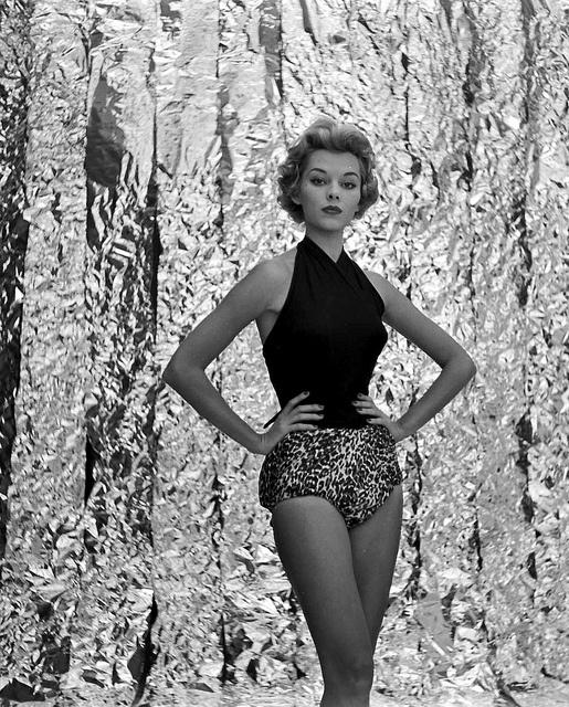"Model/actress Vikki Dougan, a ""Gleason Girl"" on the Jackie Gleason show, photo by Lisa Larsen, 1953"