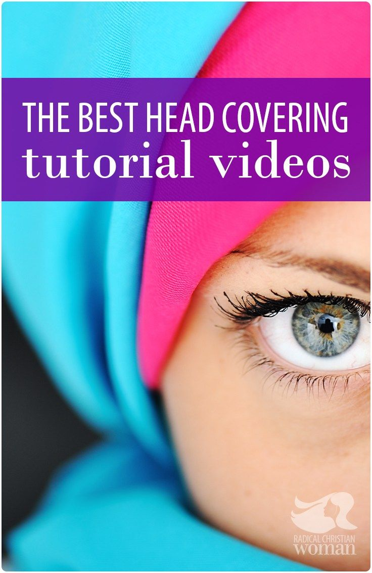 Having a Sunday morning tichel, hijab, or head wrap melt-down? Never fear the best head covering tutorial videos are here!!!