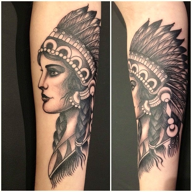 Best 25+ Indian girl tattoos ideas on Pinterest | Native ...