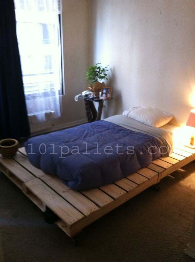 High Quality DIY Unique Style Pallets Bed
