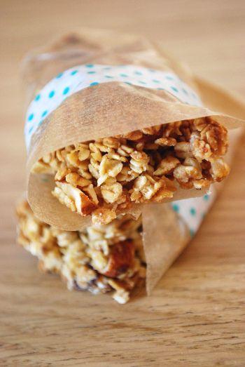Les barres de céréales - Muesli et granola maison