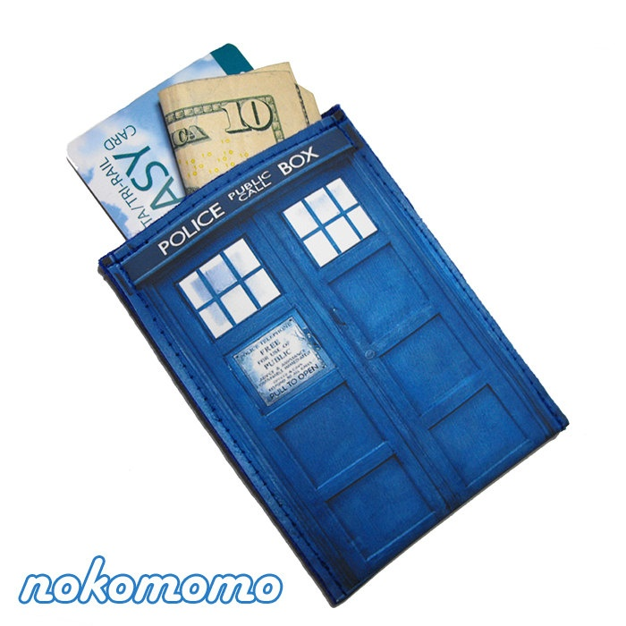 34 best sewn or fabric gift card holders images on pinterest gift wallet pouch police box for business cards credit and gift cards cash and more by nokomomo reheart Choice Image