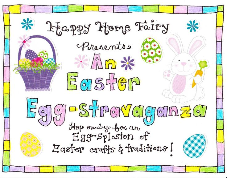Cute scavenger hunt from the Easter bunny to find their baskets