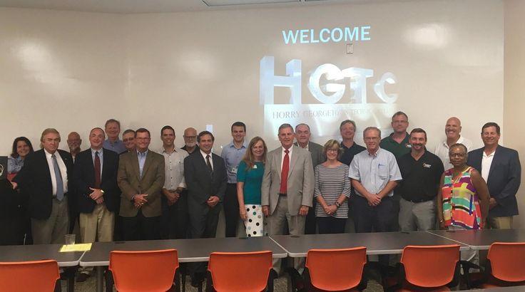 Coastal Industrial Alliance visits HGTC, September 2016