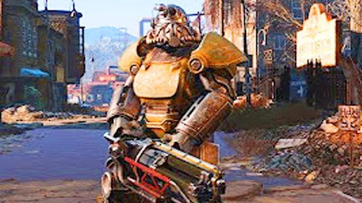 FALLOUT 4 - Xbox & Steam Free Weekend Gameplay Trailer 2017 (PS4/Xbox On...
