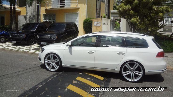 """Volkswagen Passat Variant 2013 com rodas   aro 22""""  foto 2"""