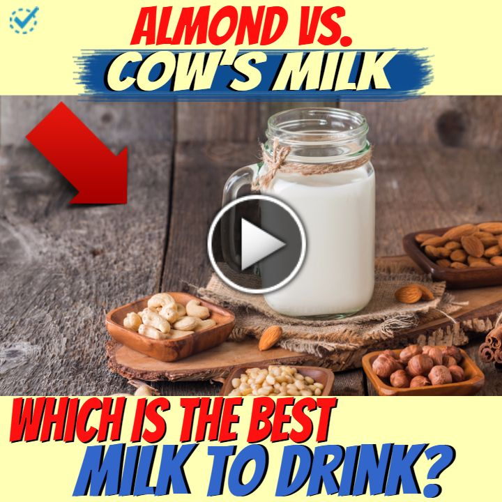 Almond vs. Cow's Milk—Which Is the Best Milk to Drink?