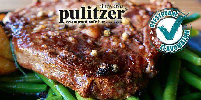 Juhoamerický hovädzí entrecôte steak 200g. Aj so slepačou polievkou!