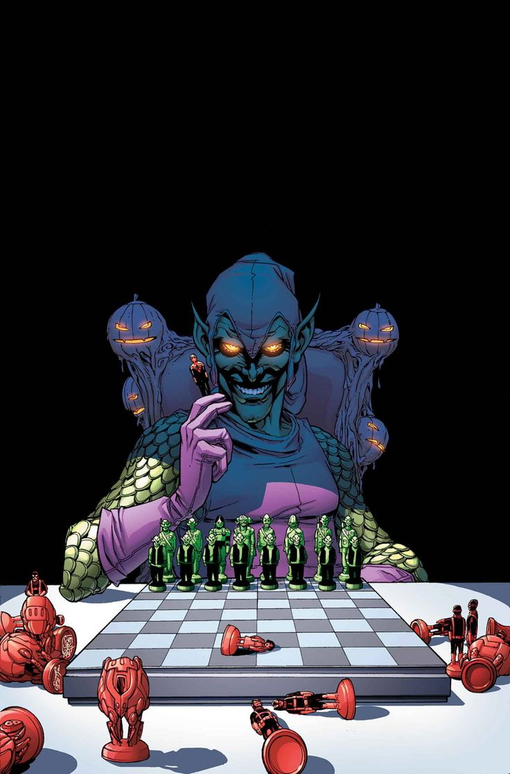 "SUPERIOR SPIDER-MAN #28 DAN SLOTT (W) • GIUSEPPE CAMUNCOLI (A/C) Variant cover by Dave Marquez ""Goblin Nation"" #2 (of 5)"