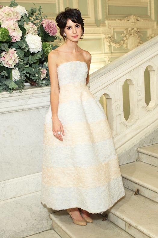 София Файзиева в Dior Couture, 2012 год. Бал дебютанток Tatler.
