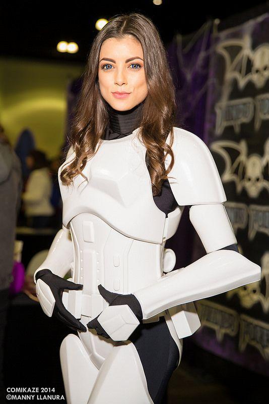 Star Wars Stormtrooper - Comikaze 2014 #Cosplay by LeeAnna Vamp