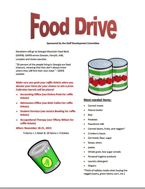 Food Drive Flyer Template template Food drive flyer, Food, Flyer