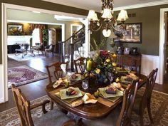 Best Dining Room Table Decor Images On Pinterest Dining Room