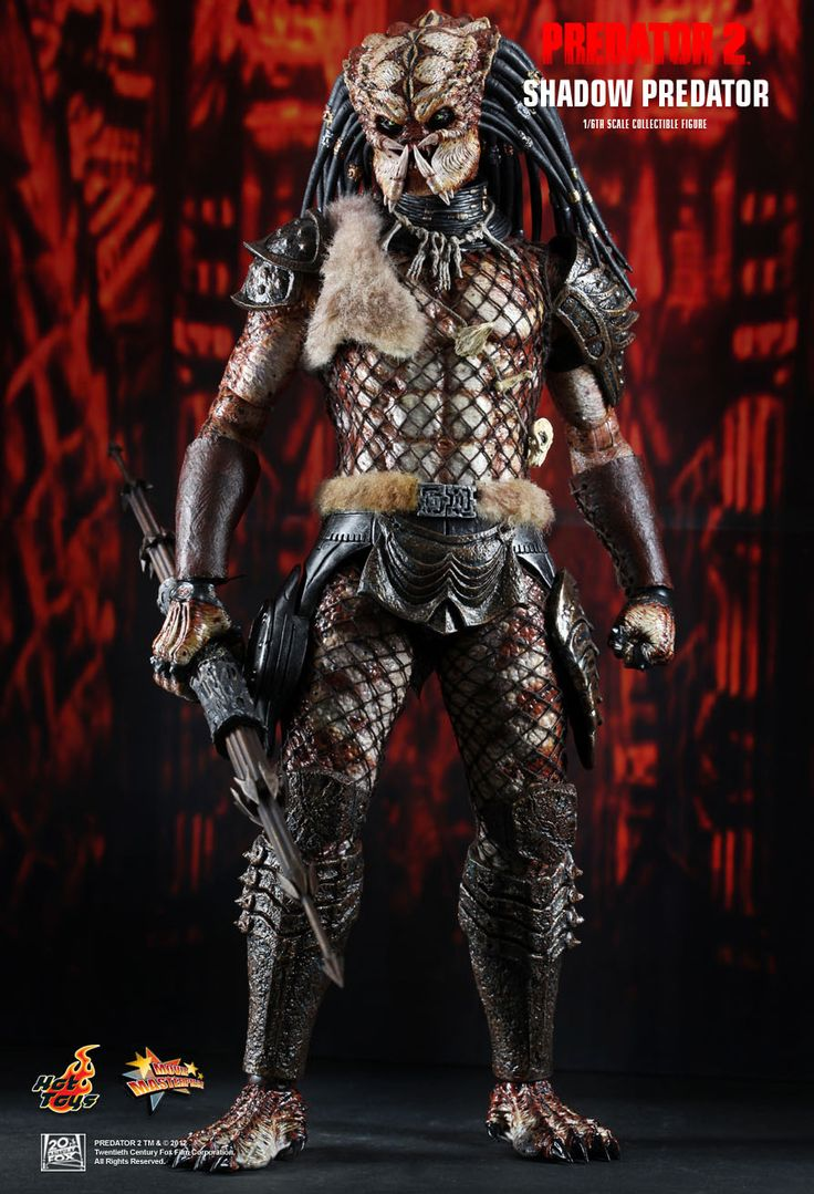 Hot Toys : Predator 2 - Shadow Predator 1/6th scale Collectible Figure