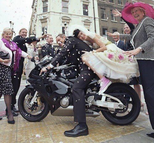 Best 20+ Biker Wedding Dress Ideas On Pinterest | Motorcycle Wedding Biker Wedding Theme And ...