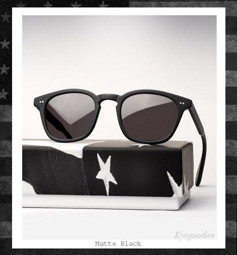 Garrett Leight X Mark McNairy Sunglasses