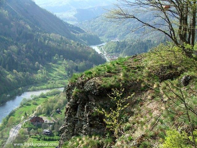 Casoaia Rock - Androneasa - Mures valley