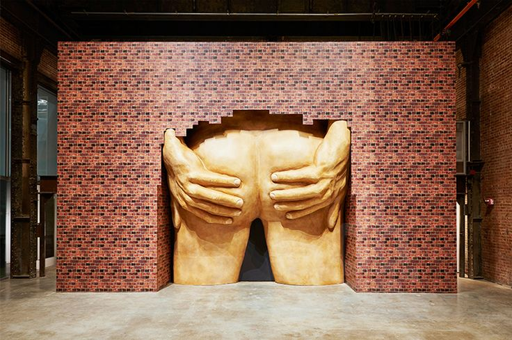 turner prize 2016 shortlist revealed: 'project for door (after gaetano pesce)', 2015 by anthea hamilton