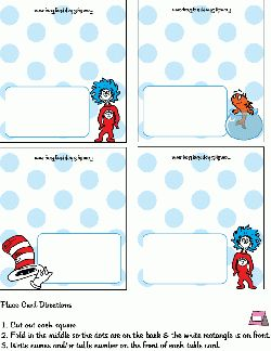 dr seuss birthday card template - 216 best images about dr seuss birthday printables on