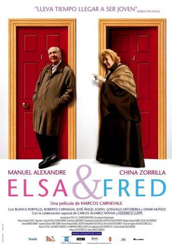 Elsa y Fred. Divertida, romantica, hermosa pelicula donde la edad no tiene que ver con ser feliz.