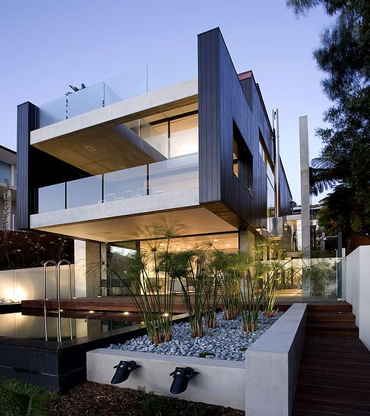 Whale Beach House Design By Alex Popov Architects In Peaceful Ideas Dream  House