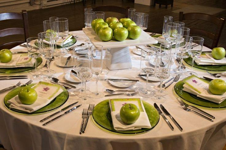 Ideas y Decoración para su mesa de Rosh Hashana Dele clic alas fotos para verlas en tamaño grande  Recetas de Rosh Hashana Pastel de Manzanas Rápido