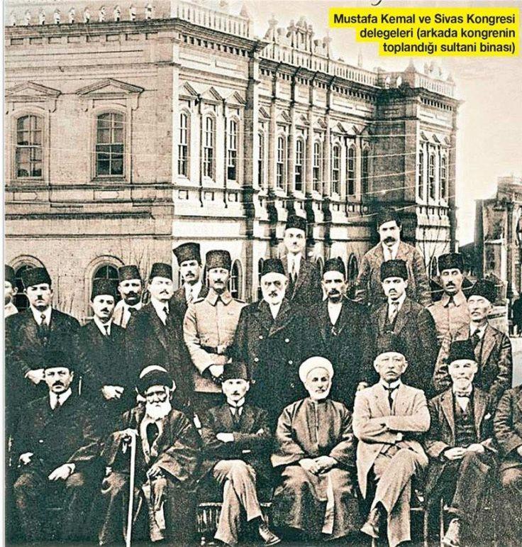 """""""Burada bir milletin kurtuluşunu hazırlayan kararlar verildi.""""(Atatürk, 13 Kasım 1937, Sivas)Bugün 4 Eylül 2017; Milli Mücadele'nin temel taşlarından Sivas Kongresi'nin 98. yıldönümü… Bağımsızlık savaşımızın ve Cumhuriyetimizin temelleri Sivas'ta atıldı. Mustafa Kemal..."""
