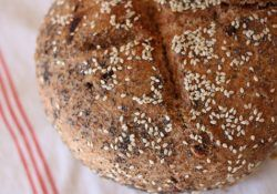 Cuisson du pain avec le four solaire Photon