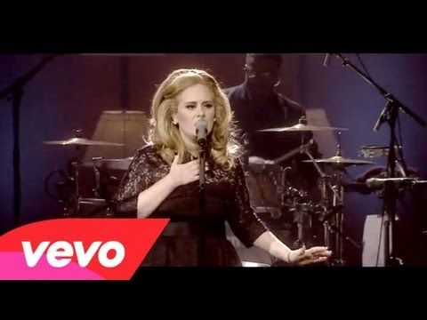 Adele - Someone Like You ( Live at Royal Albert Hall ) - includes speech + public reaction - YouTube