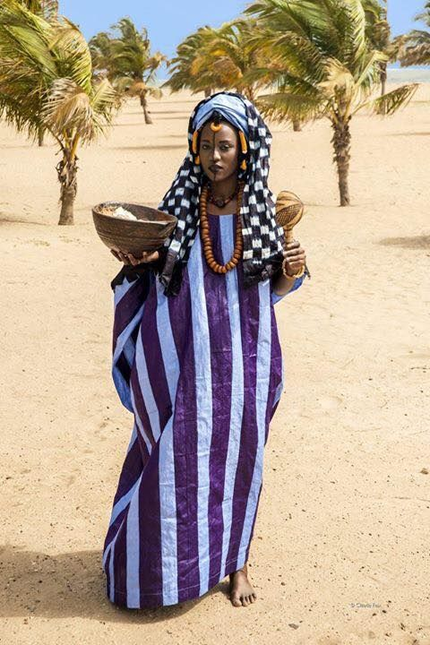 Oh those colors. Love indigo. Africa - fulani nomad