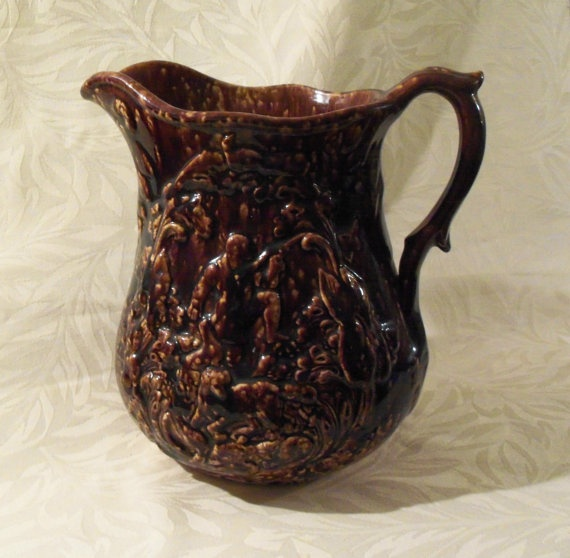 38 Best Images About Rockingham Pottery On Pinterest