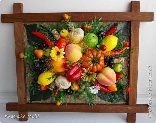 Картины из овощей своими руками
