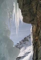 Arrampicata sulle cascate di ghiaccio delle Alpi su www.degustiblog.it