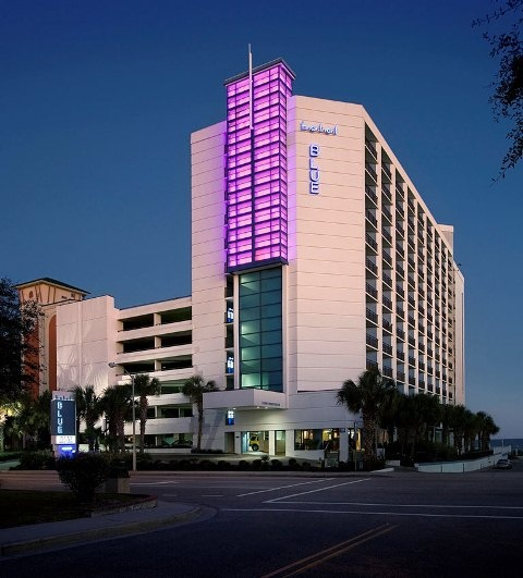 Pink for breast cancer month!Hotels Blue Myrtle Beach, Myrtle Beach Sc