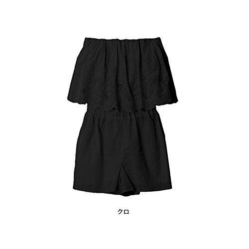 レースフリルオールインワン 刺繍 コットン 白 黒 Mサイズ ベアトップ チューブトップ プチプラ パンツ ショー... https://www.amazon.co.jp/dp/B073HXX27T/ref=cm_sw_r_pi_dp_x_31AvzbBMT3Q65