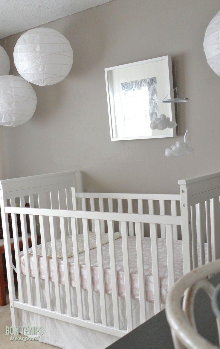 Grey walls -actually a taupe. Bon Temps Beignet: Nursery Source List
