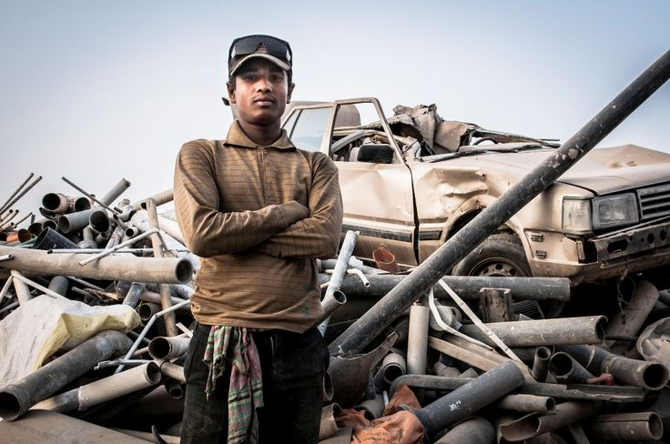 Young Bangladeshi worker - Gulf Region - photo by Stefanistan
