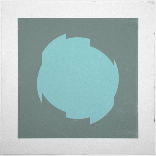 #6 Cut Circle –A new minimal geometric composition each day