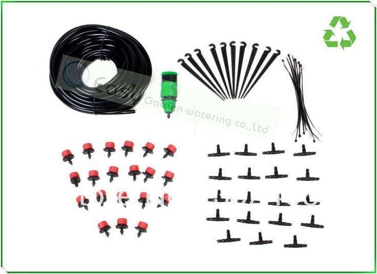 NEW ARRIVAL!Drip irrigation system. Plant watering system.Micro irrigation.self irrigation for flower pot and hanging basket