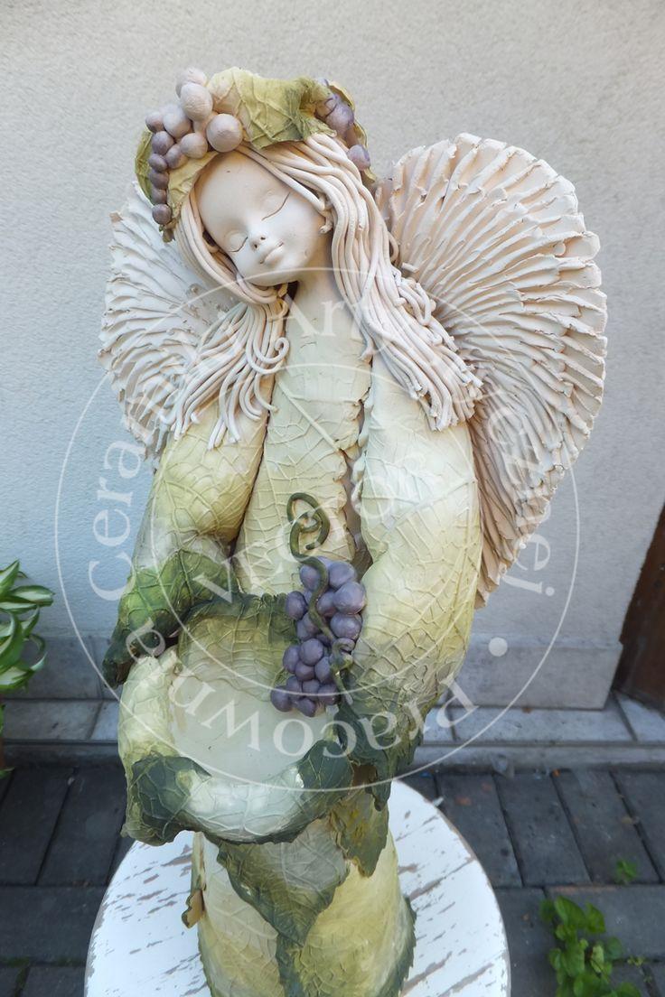 Anioł, ręcznie malowany/Angel, hand painted