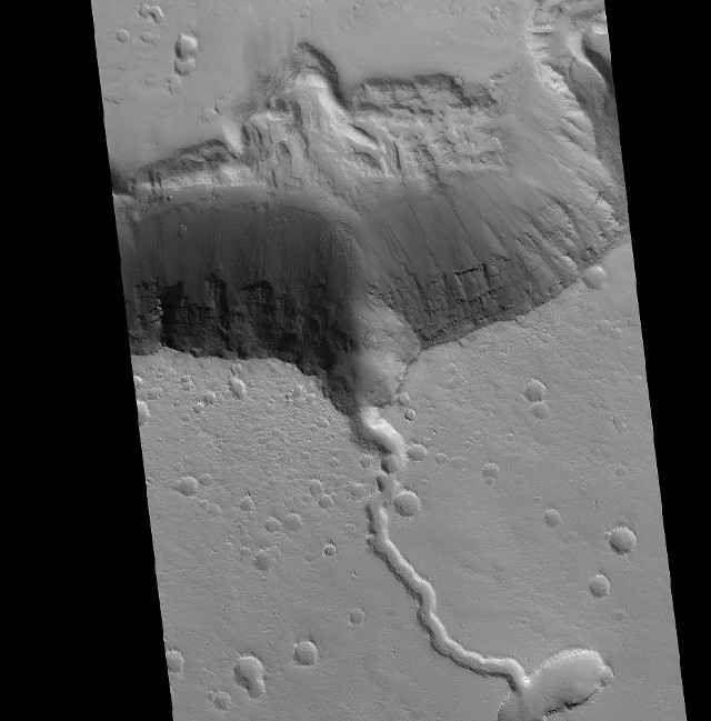 """Nella regione di Elysium Planitia su Marte il mantello è più simile a quello terrestre del previsto In un articolo pubblicato sulla rivista """"Scientific Reports"""" viene descritta una ricerca su Elysium Planitia, una regione vulcanica vicina all'equatore di Marte. #elysiumplanitia #marte"""