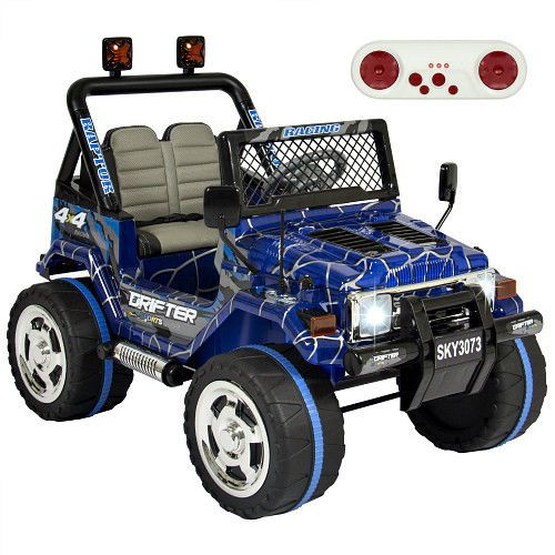 Electric Kids Ride On Car Truck Spiderman 12V Remote Control Toddler 2 Speed Toy #Unbranded